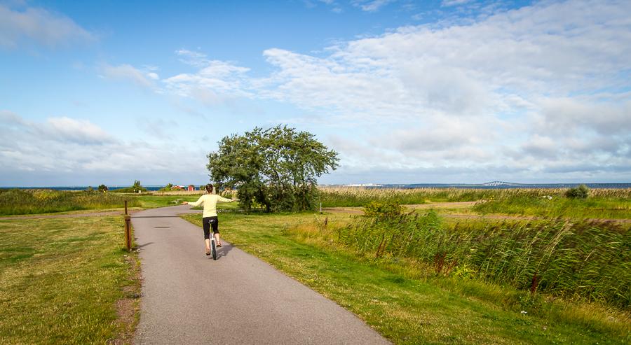 Einrad fahren entspannt