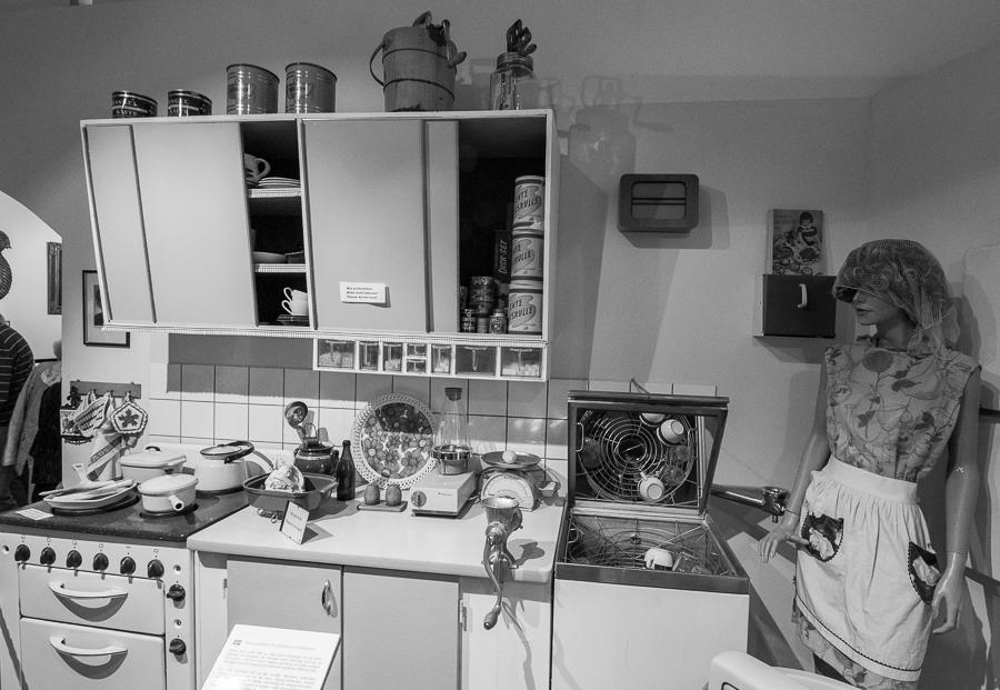 Küche im Huskvarnamuseum