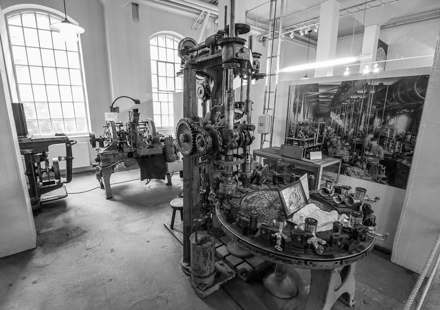 Geschichte der Automatisierung im Huskvarnamuseum